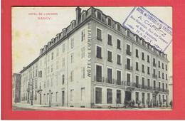 NANCY HOTEL DE L UNIVERS ET DU COMMERCE RUE STANISLAS RUE DES CARMES RUE GAMBETTA  CARTE EN TRES BON ETAT - Nancy