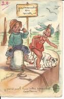 GERMAINE BOURET Promenades En Mer  Y Prend Pas L'eau Votre Paquebot Capitaine? Chien Fox Terrier - Bouret, Germaine