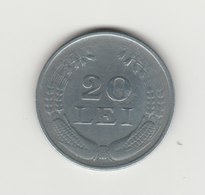 20 LEI 1944 MICHEL 1ER ZINC - Rumänien