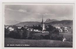 Sâles Gruyère, Vue Générale Et Le Moléson - FR Fribourg