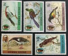 141.SIERRA LEONE 1983 SET/5 STAMP BIRDS, OWLS. MNH - Sierra Leone (1961-...)