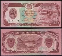 Afghanistan P 58 A - 100 Afghanis 1979 - UNC - Afghanistán