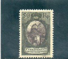 LIECHTENSTEIN 1921 * DENT 12.5 - Nuevos