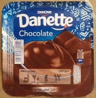 Egypt - Couvercle De Chocolate Danone Danette  New Design (foil) (Egypte) (Egitto) (Ägypten) (Egipto) (Egypten) Africa - Milk Tops (Milk Lids)