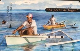 POLYNESIE FRANCAISE  -  PhoneCard  -  La Pêche De Lagon  -  60 Unités  -  PF  84 - Frans-Polynesië