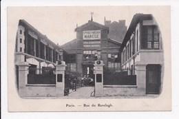 CP 75 PARIS 16e Rue Du Ranelagh   Hippique Ranelagh Manege Ecole D'équitation - Arrondissement: 16
