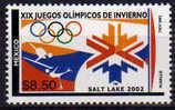 Mexico . Jeux Olympiques D'Hiver Salt Lake City 2002. Un T-p Neuf ** - Winter 2002: Salt Lake City