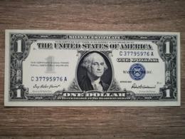 1957 UNITED STATES SILVER CERTIFICATE $1 (( GEM UNC )) - Certificats D'Argent (1928-1957)