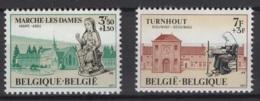 Belgique: 1971 :  COB N° 1571/72 **, MNH. - Ungebraucht