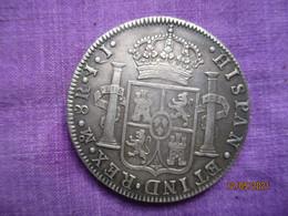 Spain: 8 Réales Fernando VII - 1821 - [ 1] …-1931 : Reino