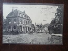 LAMBERSART-   La Rue Du Bourg Et L'entrée De L'avenue De L'hippodrome      édit: L.S  Hautmont - Lambersart