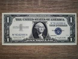1957-A UNITED STATES SILVER CERTIFICATE $1 (( GEM UNC )) - Certificats D'Argent (1928-1957)