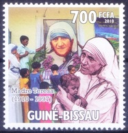 Guinea Bissau 2010 MNH, Homage To Mother Teresa Nobel Peace Winner - Mother Teresa