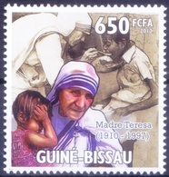 Guinea Bissau 2010 MNH, Nobel Peace Winner Mother Teresa Feeding Child - Mother Teresa