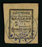 REUNION - YT TAXE 1 - TIMBRE OBLITERE - Réunion (1852-1975)