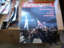 Sport Tempo Nedeljni Ilustrovani Sportski List Football.... Other Sport - Bücher, Zeitschriften, Comics