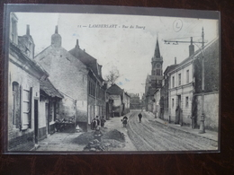 LAMBERSART-   Rue Du Bourg    édit: L.S Hautmont - Lambersart