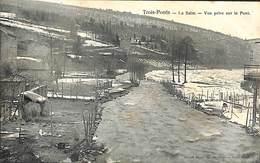 Trois-Ponts - La Salm - Vue Prise Sur Le Pont (Grand Bazar Des Ardennes) - Trois-Ponts