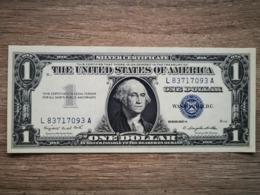 1957-A UNITED STATES SILVER CERTIFICATE $1 (( GEM UNC )) - Certificati D'Argento (1928-1957)