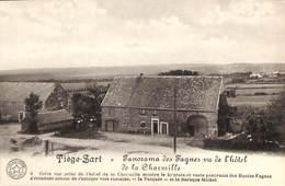 Tiège-Sart - Panorama Des Fagnes Vu De L'hôtel De La Charmille (Belgique Historique) - Jalhay