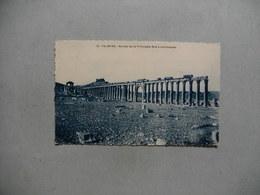PALMYRE  -  Ruines De La Principale Rue à Colonnades  -  SYRIE - Syrien