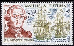 Wallis & Futuna - 1988 - La Perouse, French Explorer - Mint Stamp - Wallis Und Futuna