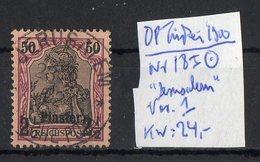 DP Türkei 1900: 2 1/2 Piaster Auf 50 Pf - Deutsche Post In Der Türkei