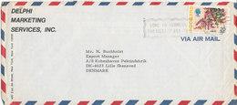 Bermuda Air Mail Cover Sent To Denmark 16-2-1976 - Bermuda