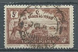 Tunisie YT N°153 De Gabès Au Tchad Oblitéré ° - Oblitérés