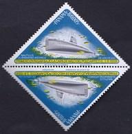 Panama / Atomic Submarine Nautilus, Arctic Pole 1958 / MNH, Mi 812 - Submarines