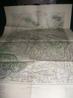 TURQUIE : ADRIANOPEL , EDIRNE  CARTE DE 1903  K.u.K. MILITÄRGEOGRAPHISCHES INSTITUT - Geographical Maps