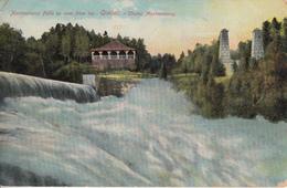 Chutes Montmorency Falls - Written In 1912 To Ste Croix Lotbinière Québec - 2 Scans - Montmorency Falls