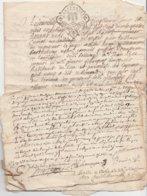46--BLESLE-3 MANUSCRITS-1734-1764-1740 - Manuscripten