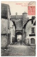 CPA 79 - PARTHENAY (Deux Sèvres) - Porte Saint-Jacques - Vue Intérieure - Coll. A. Bourdeau - Parthenay
