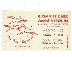 BUVARD  BISCUITERIE ANDRE  VERQUIN  CIGOGNES   *****  A SAISIR   ***** - Cake & Candy