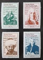 CHYPRE (TURQUIE)   Europa 1985   N° Y&T  151 à 154  ** - Unused Stamps