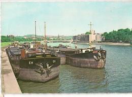 LIEGE - La Meuse Et Le Palais Des Congrès / LUIK - De Maas Eu Het Congrespaleis. - Houseboats