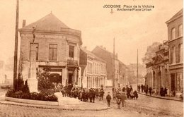 Cpa Jodoigne Place De La Victoire, Ancienne Place Urban Belle Animation PRIX FIXE !!! - Jodoigne