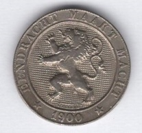 Belgique. 5 Centimes 1900 FL TTB+. Morin # 251 - 1865-1909: Leopold II