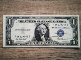 1935-F UNITED STATES SILVER CERTIFICATE $1 (( GEM UNC )) - Silver Certificates – Títulos Plata (1928-1957)