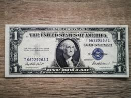 1935-F UNITED STATES SILVER CERTIFICATE $1 (( GEM UNC )) - Certificati D'Argento (1928-1957)