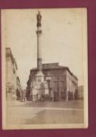 220520B - PHOTO ALBUMINEE - ITALIE ROMA Monumento Della Conceziona In Piazza - Places & Squares