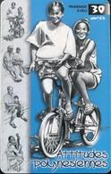 POLYNESIE FRANCAISE  -  PhoneCard  - Promenade à Vélo  -  30 Unités  -  PF 97 - Frans-Polynesië