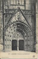 670 Quimper Porche De La Cathédrale - Quimper