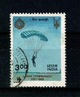 Ref 1361 - India 1986 - SG 1199  3r Fine Used Stamp Parachute Regiment - Cat £6+ - Inde