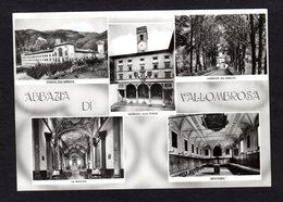 Italie - Abbaye De Vallombrosa - Basilica , Réfectoire , All'abbazia ( Ediz. Monaci Benedettini Di Vallombrosa N° 13521) - Altre Città