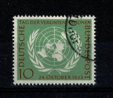 Ref 1361 - Germany 1955  - SG 1147  10pf Fine Used Stamp - U.N. Day- Cat £6.25+ - [7] République Fédérale