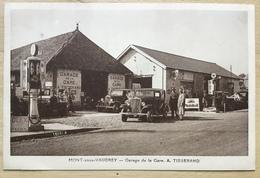 39 CPA MONT SOUS VAUDREY GARAGE DE LA GARE TISSERAND - France