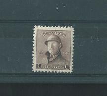 Belgique 1919 - N° 165 CU . Variété. Point Sur Le Menton Et à Droite Du C. Scan Recto/verso. - Errors And Oddities