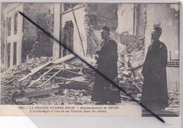 Reims (51) Bombardement  De Reims.L'Archevêque Et Un De Ses Vicaire- Grande Guerre 1914-18) - Reims